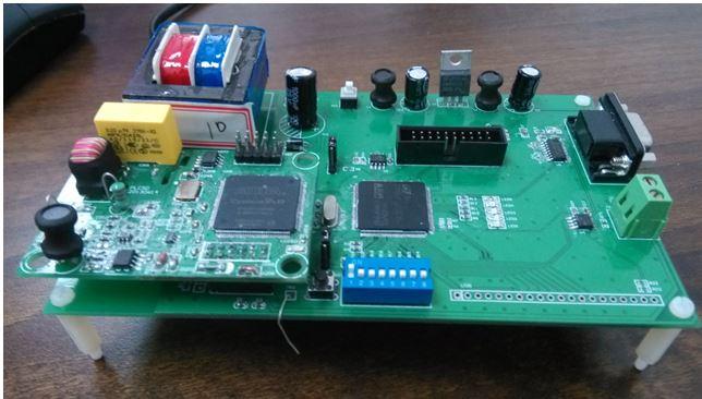 基于轻型协议的电力线载波通信模块